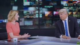 Vídeo: RT le ofrece trabajo a Trump si no logra ser reelegido
