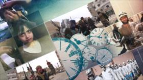 10 Minutos: Los cascos blancos se vuelven violetas en Siria