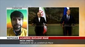 Oneto: Sanciones de EEUU a Irán, un pataleo de ahogado de Trump