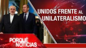 El Porqué de las Noticias: Zarif en Rusia. Agresión saudí contra Yemen. Elecciones en Venezuela