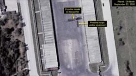 Satélite detecta portamisiles en sitio de desfile en Corea del Norte