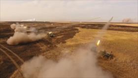 Vídeo: Salva simultánea de 500 misiles rusos en solo 20 segundos