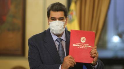 Maduro: Informe contra Venezuela viene de EEUU no de la ONU