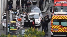 Dos heridos en un ataque cerca de exoficinas de Charlie Hebdo