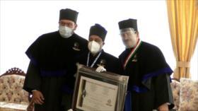 Entregan en México doctorado honoris causa al embajador de Irán