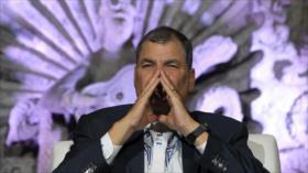 'Orden de captura confirma persecución política contra Correa'