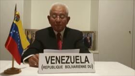 """Venezuela tacha de """"sesgada"""" la actualización oral emitida de ONU"""