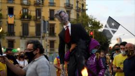 Podemos celebra el rechazo al viaje del rey de España a Cataluña