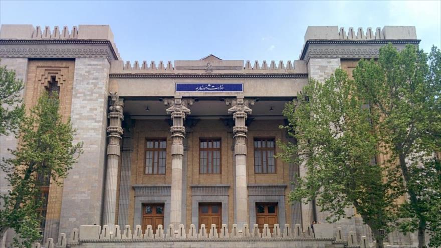 Una vista general del Ministerio iraní de Asuntos Exteriores en Teherán, capital iraní.