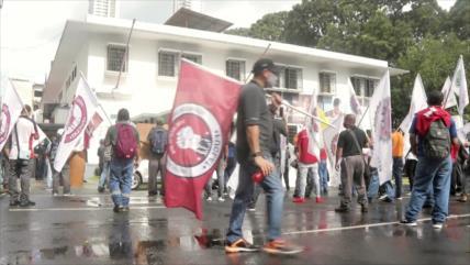 Rechazan medidas para privatizar Seguro Social en Panamá