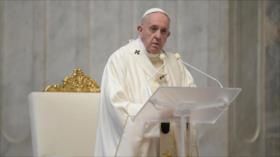 El papa Francisco pide reducir embargos internacionales por COVID-19