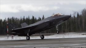 Advertencia a Rusia y China: EEUU envía cazas avanzados a Alaska