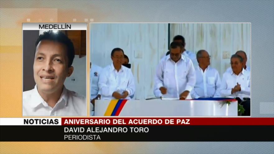 """Toro: es """"necesaria"""" presión internacional ante inacción de Duque"""