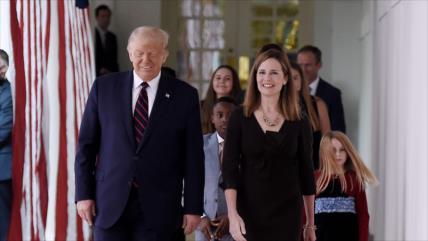 Trump nomina a Amy Barrett para Corte Suprema de Justicia
