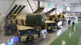 Exposición de capacidades estratégicas de la Fuerza Aérea de Irán