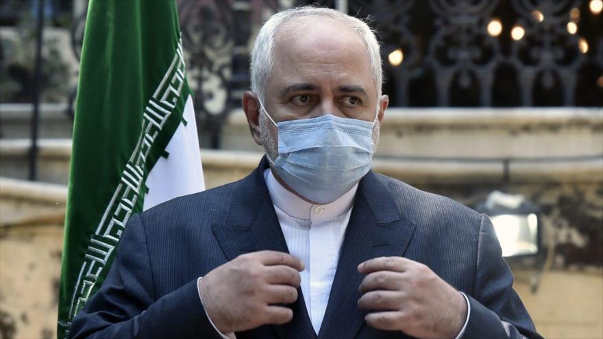 El canciller de Irán, Mohamad Yavad Zarif.