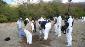 Autoridades mexicanas hallan fosas clandestinas en Guanajuato