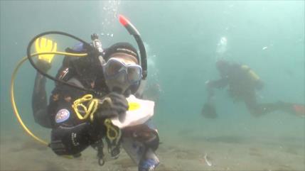Gran limpieza de fondos marinos en España por buzos voluntarios