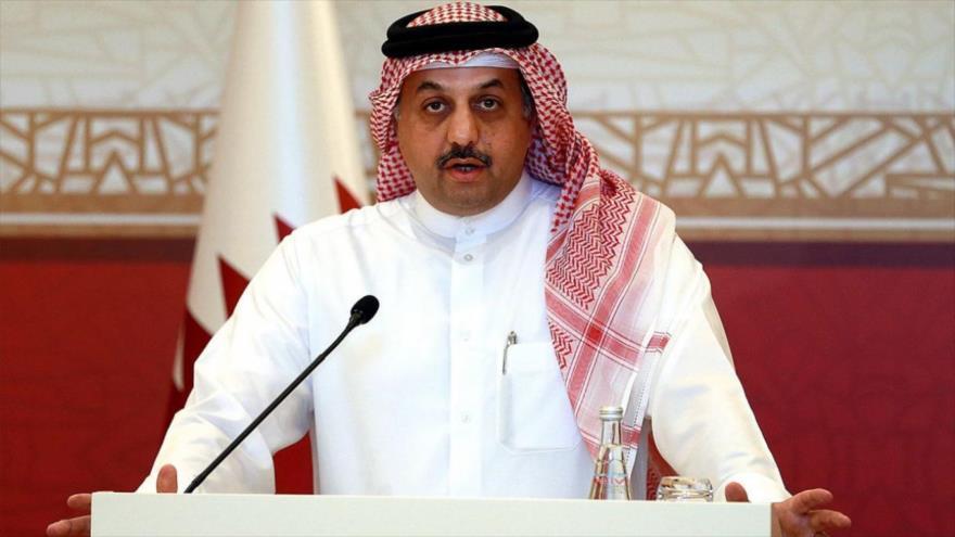 El ministro de Defensa de Catar, Jaled bin Mohamad al-Atiya.
