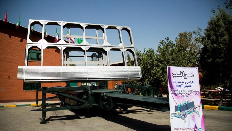 Radares iraníes monitorean kilómetros allende las fronteras del país