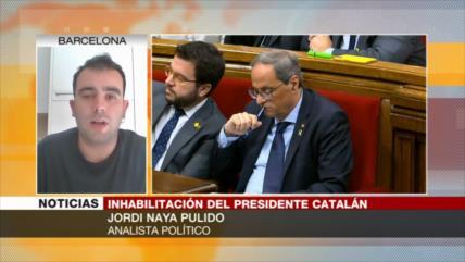 """""""Inhabilitación de Torra, un día negro en la historia de Cataluña"""""""