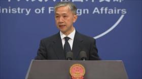 Pekín: EEUU amenaza la paz en el mar de la China Meridional