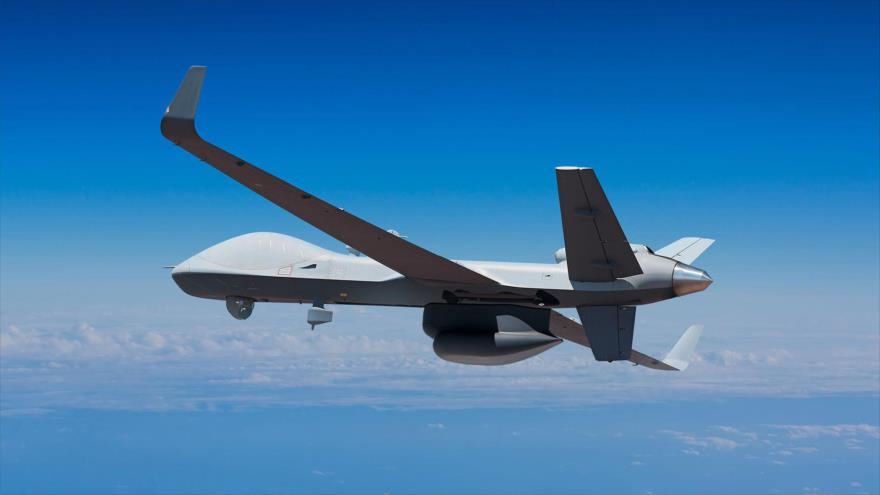 Una aeronave no tripulada (dron) MQ-9 Reaper de fabricación estadounidense.