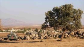 Fotos: Patrulla rusa penetra en zona controlada por EEUU en Siria