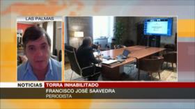 Saavedra: Gobierno de Sánchez necesita a independentistas catalanes