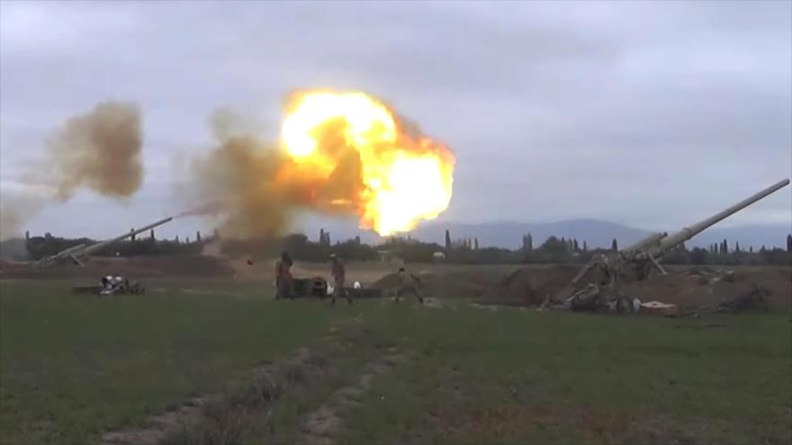 Vídeo: Armenia y Azerbaiyán vuelven a abrir fuego mortal | HISPANTV