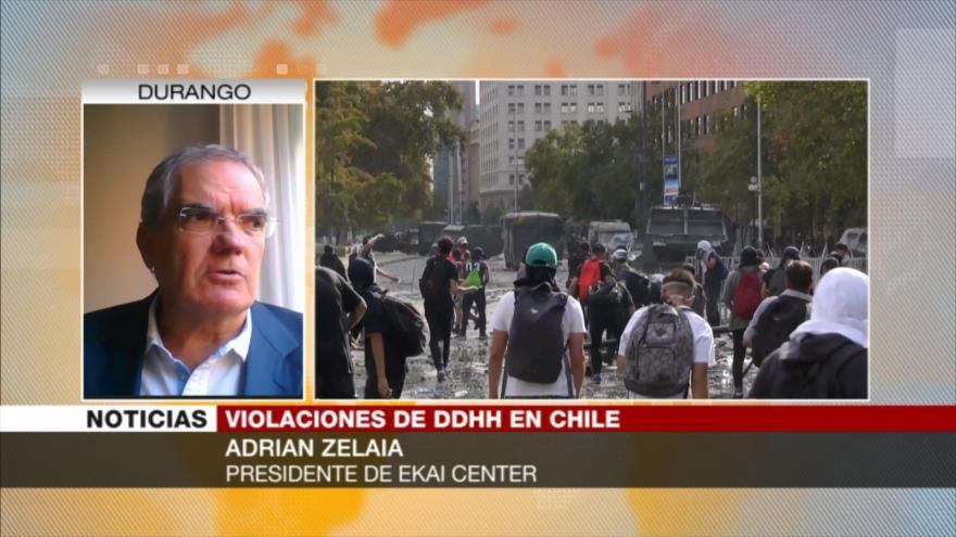 Zelaia: Policía chilena debe evitar el uso de fuerza innecesario