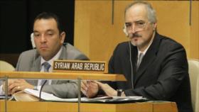 """Siria rechaza """"mentiras"""" del Occidente sobre su expediente químico"""
