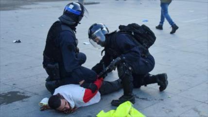Francia arresta a 40 000 manifestantes pacíficos en solo dos años