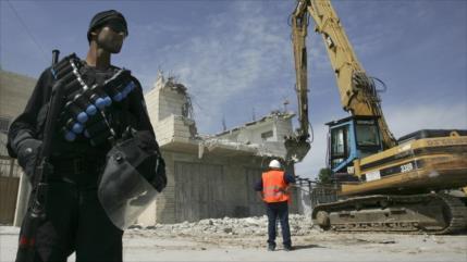 ONU: Israel ha demolido 500 casas palestinas en 2020
