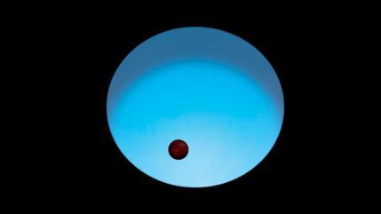 Hallan un exoplaneta 'ultracaliente' que alcanza los 3200 grados