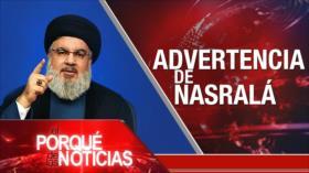 El Porqué de las Noticias: Hezbolá y política libanesa. Postura de Irán. No al bloqueo de EEUU