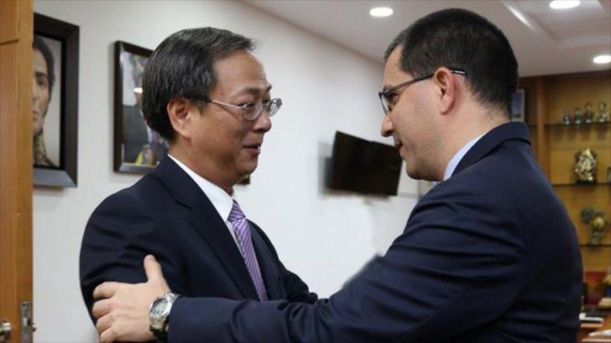 Arreaza a EEUU: Venezuela y China están más unidas que nunca