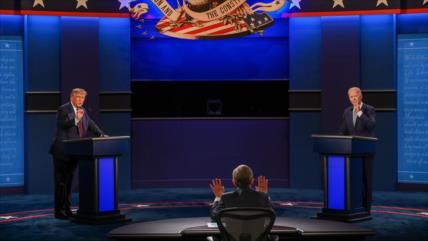 """""""Debate entre Trump y Biden avergonzó a Estados Unidos"""""""