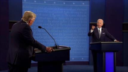 Primer debate presidencial en EEUU marcado por interrupciones