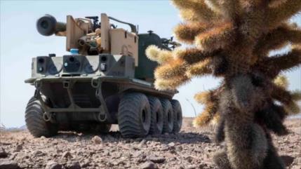 EEUU prueba nuevo robot blindado en ataque contra tanque T-72 ruso
