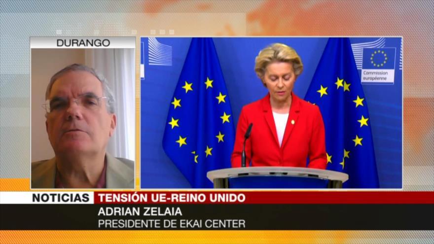 Zelaia: Tensiones entre UE y Reino Unido están en su nivel más alto