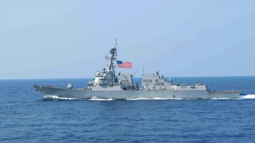 Destructor de la Marina estadounidense USS William P.