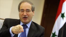Siria promete dar una lección a EEUU expulsándole de su territorio