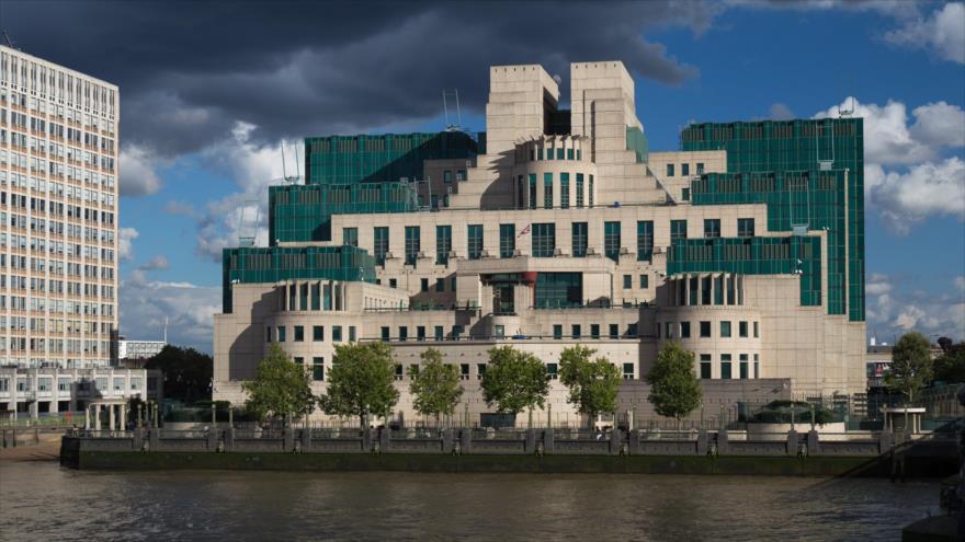 Sede del Servicio de Inteligencia Secreto(MI6) del Reino Unido en Londres, la capital.