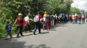 Sale de Honduras tercera caravana de migrantes del 2020