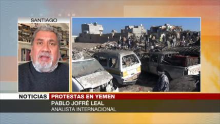 Jofré Leal: Yemen vive una catástrofe por complicidades de la ONU