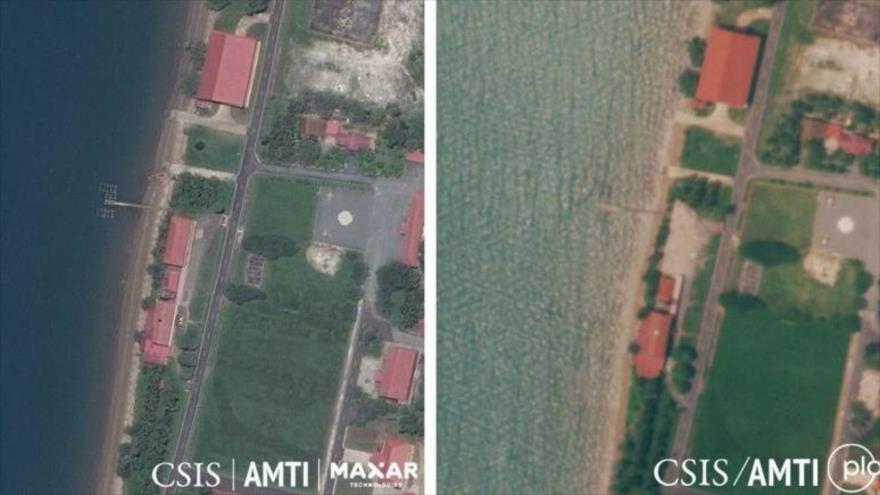Camboya demuele instalación construida por EEUU en una base naval | HISPANTV
