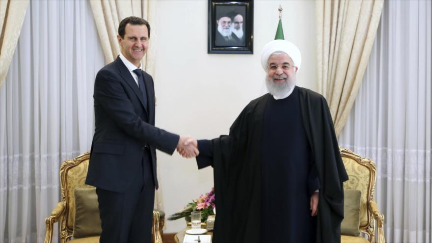 Irán y Siria acuerdan ampliar sus lazos ante presiones de EEUU | HISPANTV