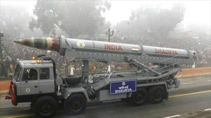 La India prueba un misil hipersónico en medio de tensión con China