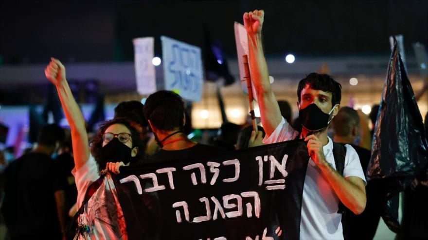 Atacan a manifestantes en nueva protesta contra Netanyahu | HISPANTV